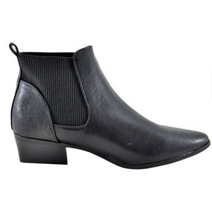 Qupid Faux Leather Beatle Booties